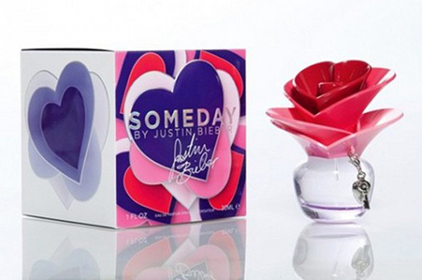 Justin Bieber's new perfume