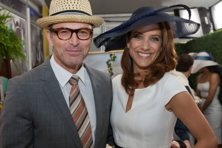 Tim Daly and Kate Walsh at the Kentucky Derby