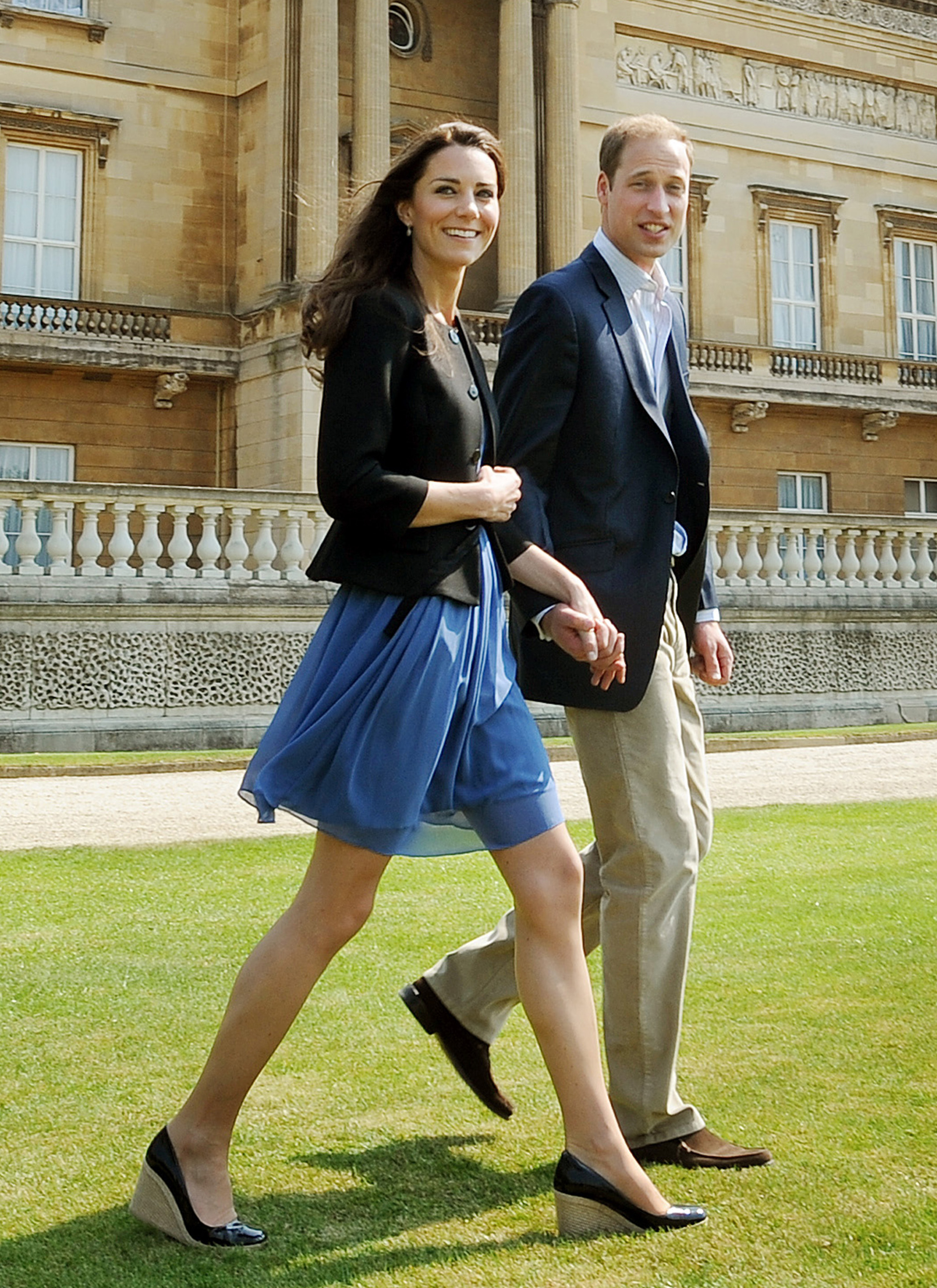 Kate's style: Little blue dress