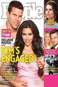 Kim Kardashian rocks a huge ring