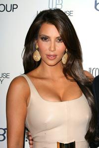 Kim Kardashian Boob Detective