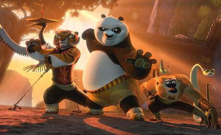 Kung Fu Panda is back!