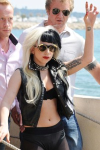 Lady Gaga does Cannes