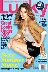 Lauren Conrad in Lucky Magazine