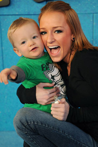 Maci and Bentley from Teen Mom