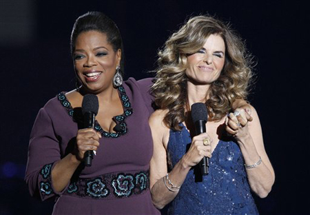 Maria Shriver Oprah