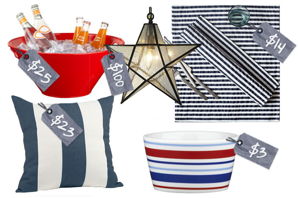 Memorial Day party decor | Home Decor