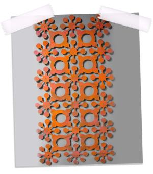 Mod Flowers Floating Wall Sculpture