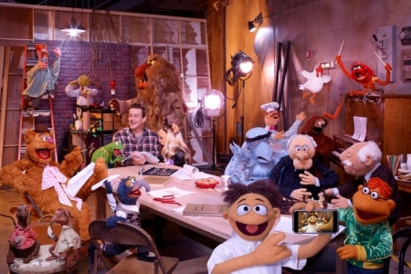 Jason Segel stars and wrote the new Muppets