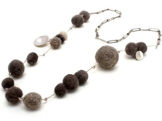 Cat Hairball Necklace