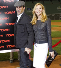 Jon Hamm and girlfriend Jessica Westfeldt