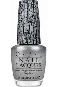 OPI silver shatter, Pirates collection