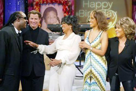 Oprah Winfrey 50th birthday