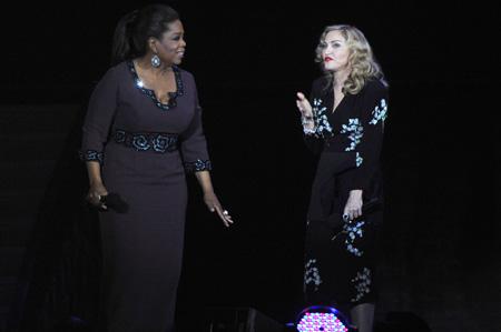 Madonna loves Oprah