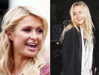 Paris Hilton & Lindsay Lohan feud