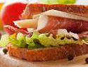 Gluten-Free Prosciutto and Provolone Sandwich with Pesto