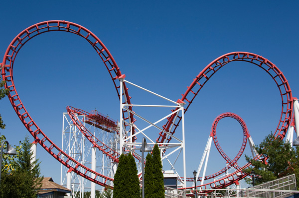 Top theme park roller coasters