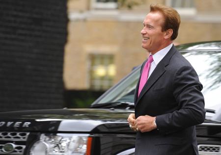 Schwarzenegger: Help from cops?