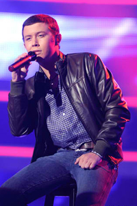 American Idol finalist Scotty McCreery