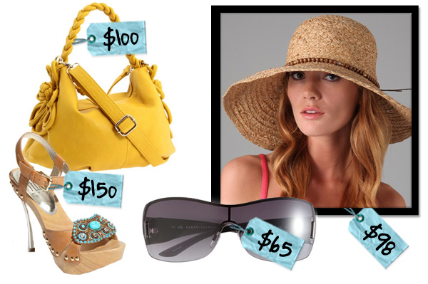 Sizzling summer accessories