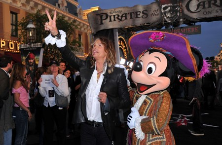 Steven Tyler at Johnny Depp's Pirates of the Caribbean: On Stranger Tides premiere