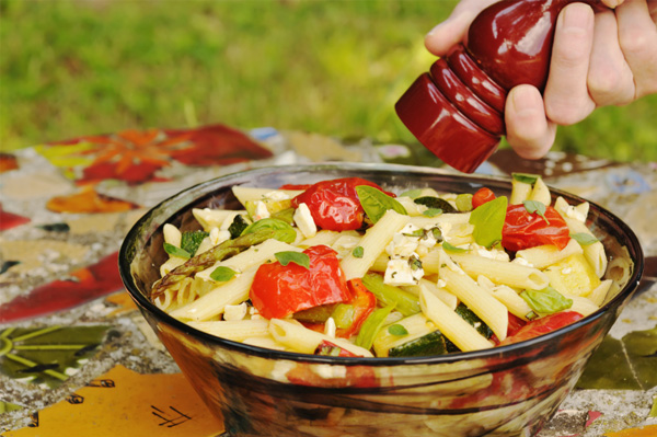 Healthy summer recipes with pasta
