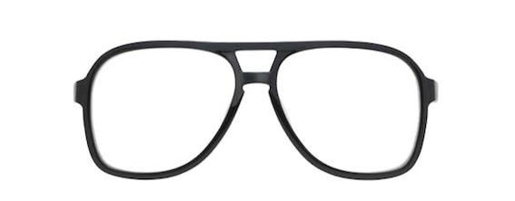 MOSCOT TERRY LE aviators black