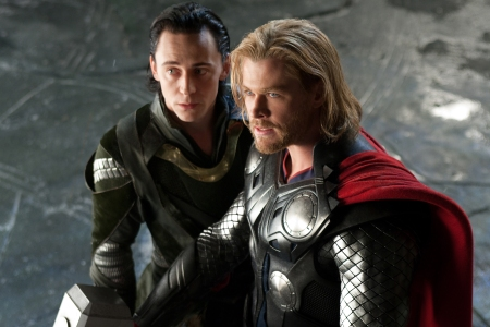 Thor and Chris Hemsworth hits theaters today!