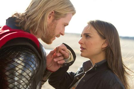 Thor's Chris Hemsworth and Natalie Portman