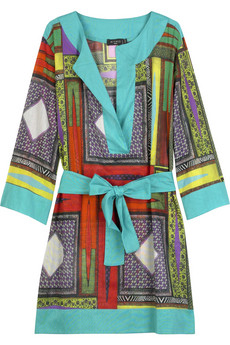 Tribal print tunic