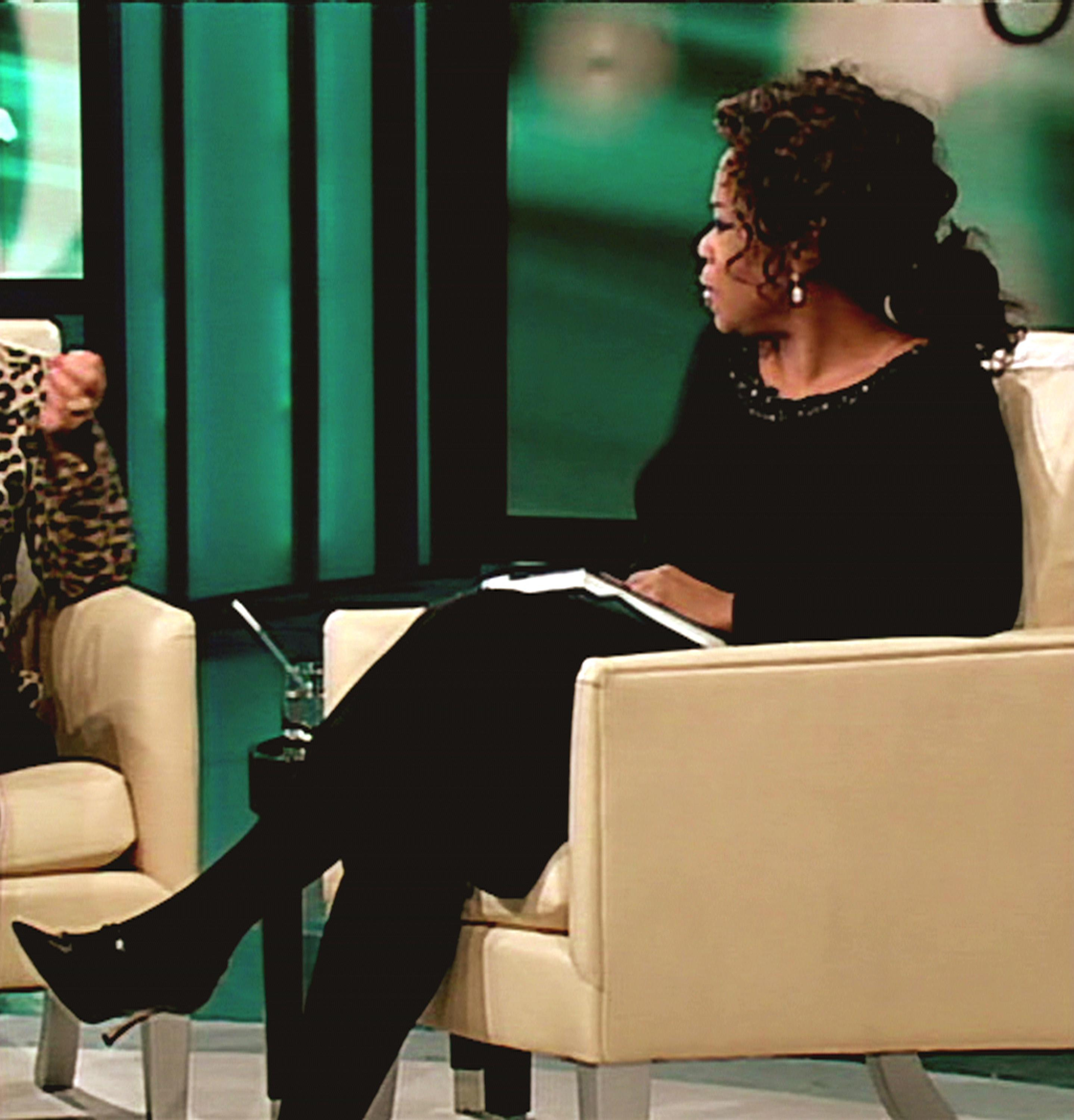 Oprah Winfrey on the Oprah Winfrey Show 2007