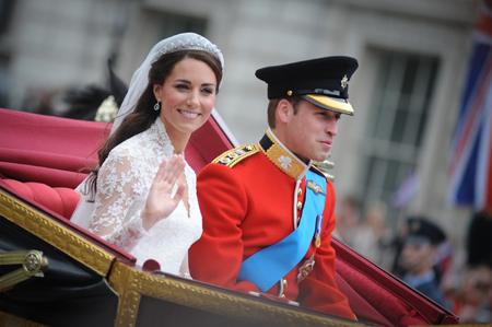 William & Kate: back from honeymoon
