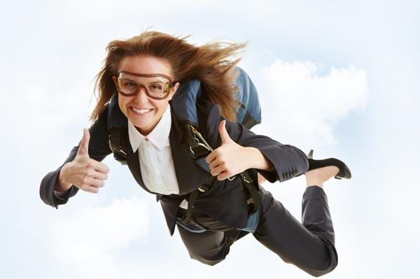 woman-skydiving