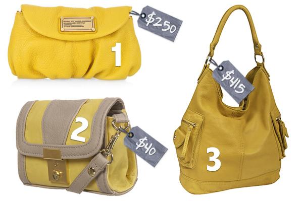 Yellow summer style staples