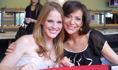 Switched at Birth stars Katie Leclerc and Constance Marie