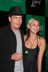 Charlie Sheen dumped by Goddess Natalie Kenly