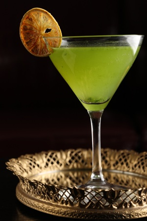 Emerald Gimlet cocktail