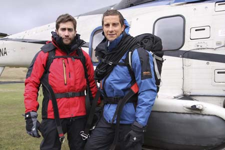 Jake Gyllenhaal goes on an adventure with Bear Grylls