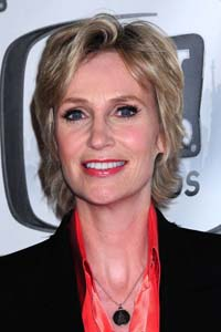 Jane Lynch hosting the 2011 Primetime Emmys