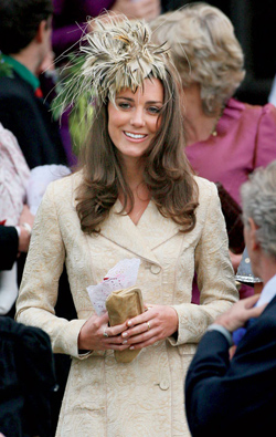Kate Middleton buys her own clothes