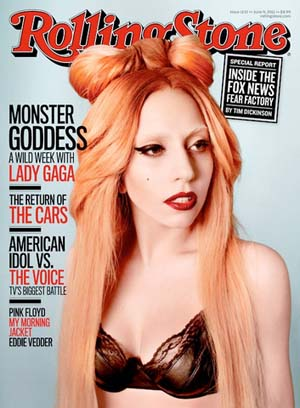 Lady Gaga Rolling Stone cover July 2011