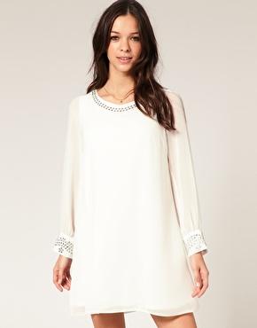 Cream colored Lipsy dress