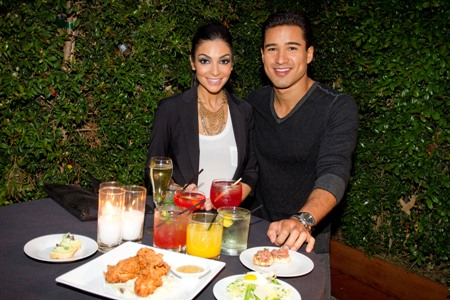 Mario Lopez and Courtney Mazza at Lexington Social House