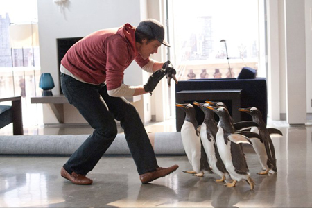 Jim Carrey in Mr Popper's Penguins