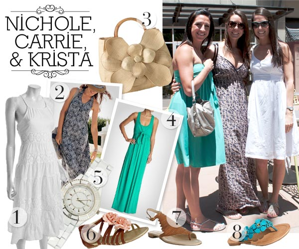 cute summer dresses and accessories