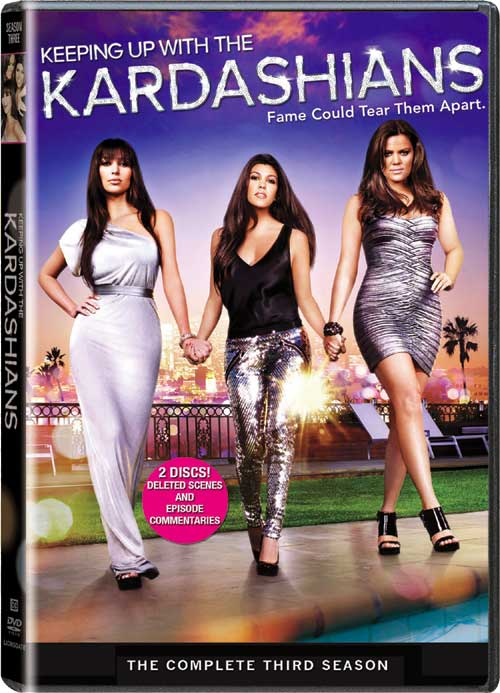 Keeping up with the Kardashians seasons 1, 2 & 3 on DVD