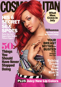 Rihanna's Cosmo cover & new video