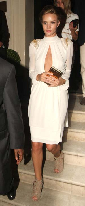 Rosie Huntington Whiteley in London