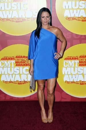 Sarah Evans at the CMT Awards