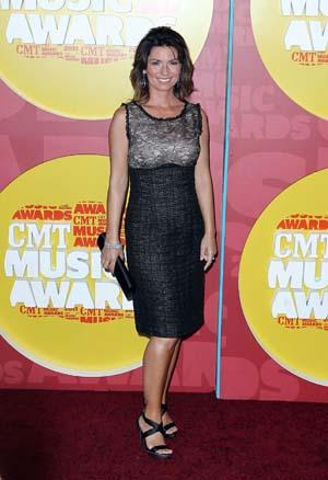 Shania Twain at the CMT Awards